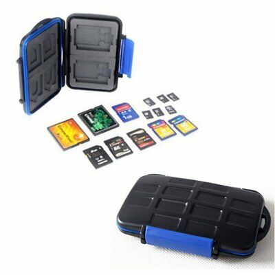 Memory Card Storage SDHC CF SD Wallet Carrying Pouch Hard Bag Case Holder UU