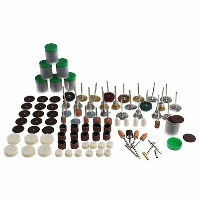 340PCS For Dremel Rotary Tool Accessories Kit Sanding Cutting Bit Grinder Wooden