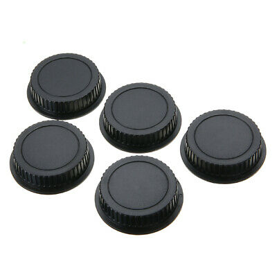 5Pcs Rear Lens Cap Dust Cover for Canon EF ES-S EOS Series Camera Lenses