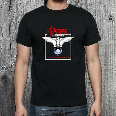 0b9ea675 LOUDNESS T-SHIRT 80'S heavy metal rock band concert 100% cotton ...