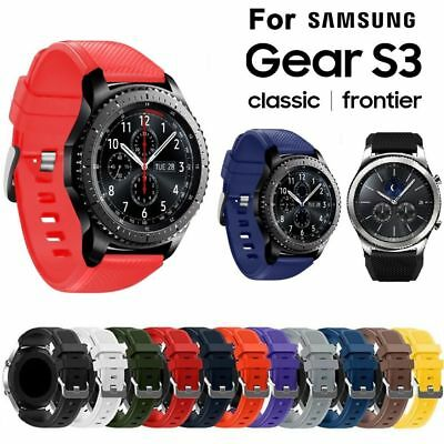 2018 Replacement Silicone Wrist Strap Watch Band Frontier For Samsung Gear S3