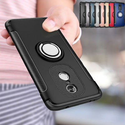 For Xiaomi 6 Redmi 4A/5A/Note 4/4X Shockproof Hybrid Armor Ring Stand Case Cover