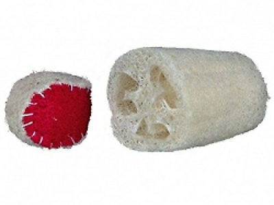 Trixie Luffa Toy (Set of 2) Bird Parrot Small Pet Natural Plant Product Chew