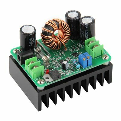 DC-DC Boost Converter Step-up Module Car Power Supply 10-60V to 12-80V 15A MAX