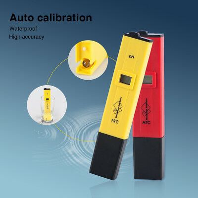 Testing Meter Water Purity Measuring TDS/PH Pen Consumable Lab PH Paper