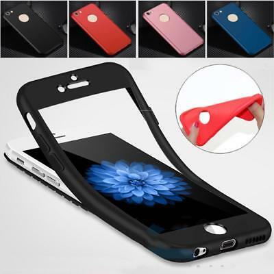 Hybrid 360° New Shockproof Case TPU Gel Skin Cover for Apple iPhone 7 6s Plus
