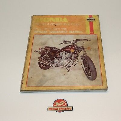 HONDA CB750 & CB900 dohc Fours (78 - 84) - Repair Manual Haynes ...
