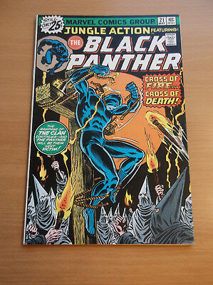 Marvel: Jungle Action #21 & 22 Featuring: The Black Panther (Vs Clan), 1976, Fn!