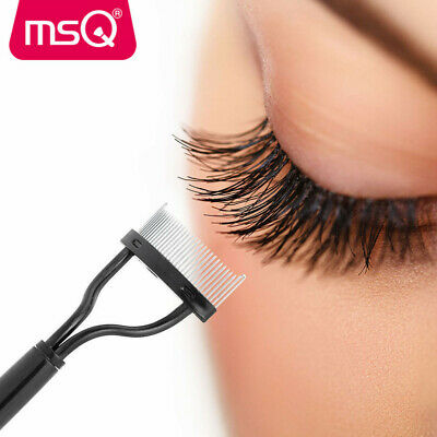 Eyelash Mascara Guide Eye Lash Comb Eyebrow Curler Brush Cosmetic Makeup Tools