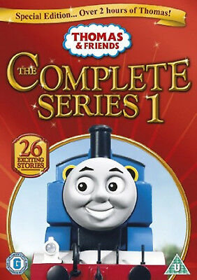 THOMAS THE TANK ENGINE AND FRIENDS COMPLETE SERIES 1 DVD First 1st Season One UK
