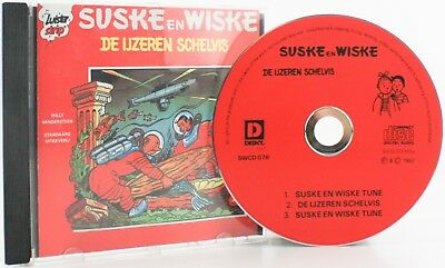 Originele Suske En Wiske De Ijzeren Schelvis Luister Strip Cd 1992 Swcd/mc 76