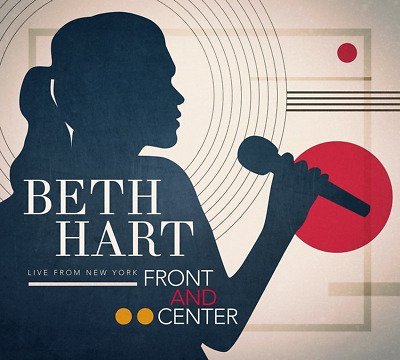 Beth Hart - Front & Centre CD/DVD (Live From New York) Presale April 13th 2018