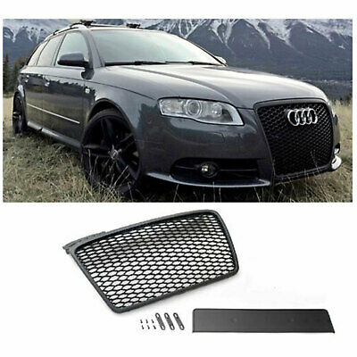 audi a4 b8 2009 12 calandre nid d 39 abeille noir mat maille grille s4 s mise au eur 205 39. Black Bedroom Furniture Sets. Home Design Ideas