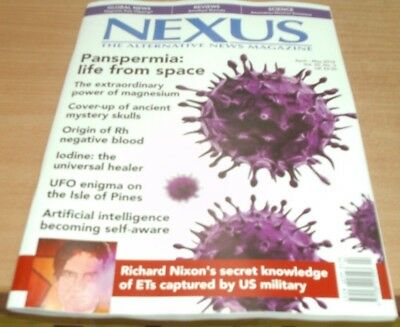 Nexus magazine Apr/May 2018 Panspermia: life from space power of magnesium &more