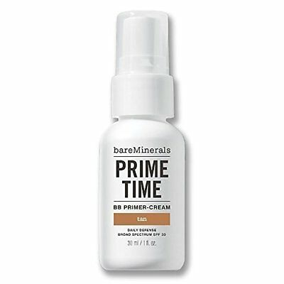 Bare Escentuals BB Primer-Cream, BareMinerals Prime Time, Daily Defense 30mL Tan