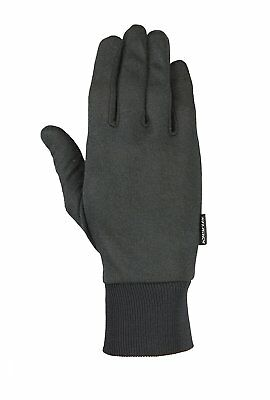 Black Deluxe Thermax Thin Warm Flexible Winter Cold Weather Glove Liner