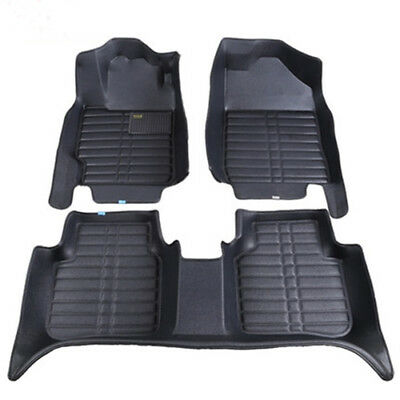 For Honda Civic Car Floor Mats Front Rear Carpet Auto Mat All Weather Waterproof