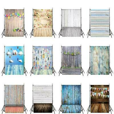 3x5ft 5x7ft Vintage Photography Backdrops White Gay Wood Plank Wall Photo Props