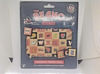 New & Sealed Beano Comic  Fridge Magnets (112 Menancing Magnets !) Free P&P