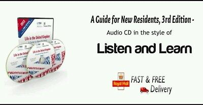 Latest Life in the UK Test Guide for New Residents Audio CD 2019 3rd edition