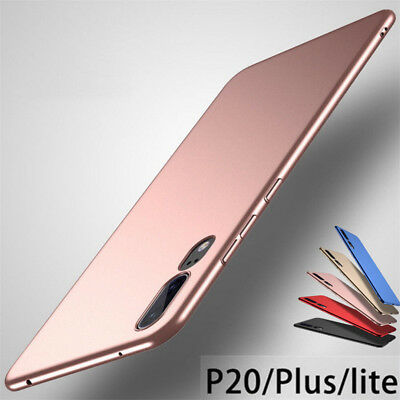 For Huawei P20 Lite Pro Plus P10 P9 Shockproof Matte Slim Hard Back Case Cover