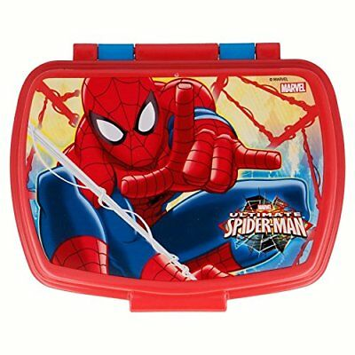 Sandwichera rectangular Spiderman 17x14x6cm Portameriendas Tupper Stor 33474