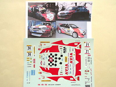 C204 Decal 1:43 Mikael Ericsson Swedish Rally 1993 FORD ESCORT COSWORTH
