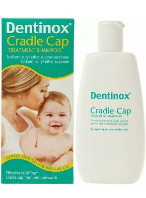 Dentinox Cradle Cap Treatment Baby Shampoo Gentle From Birth Effective Relief