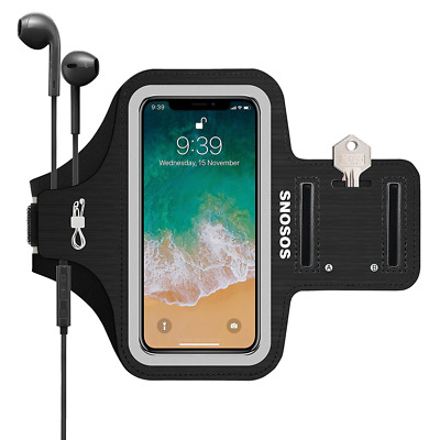 iPhone X Armband,Waterproof Sports Gym Armband Case Fingerprint Touch Supported