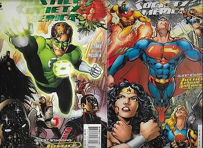 Complete Run Justice Society Of America Variants 1,2,3,4,5,6,7,8 NM FZ