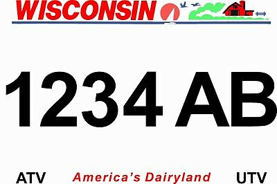 See Video Below Consumer Reports #1 Plate Seller Wisconsin ATV license Plate
