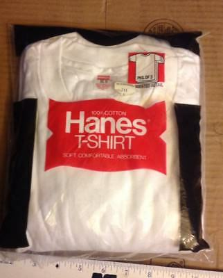 Vintage 1979 Hanes Classic T-Shirts NOS NIP Old Stock Xl USA Made