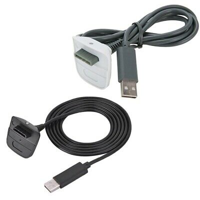 Charging Wire Cable Cord Lead Charger For Xbox 360 Wireless Controller Gamepad