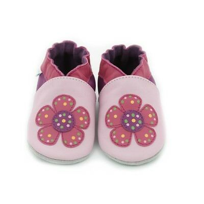 Robeez babyslofjes summer flower rose clair