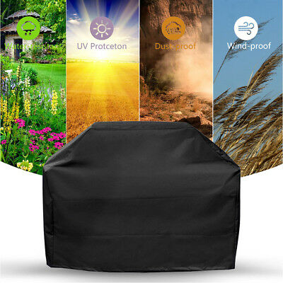 3 Sizes BBQ Gas Grill Cover Barbeque Protector Waterproof Outdoor Garden