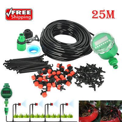 5-30M Garden DIY Micro Drip Irrigation System Plant Self Automatic Watering Hose