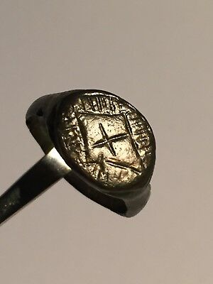 Ancient Roman Ring, Byzantine Empire, 8th-10th Century, AD.