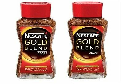 Nescafe Gold Blend Decaf Coffee, 100 gm (PACK OF 2 ) Free Fast Shipping