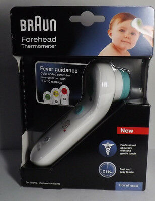 Braun Forehead Thermometer for Infants, Children and Adults - Model BFH 150 NEW