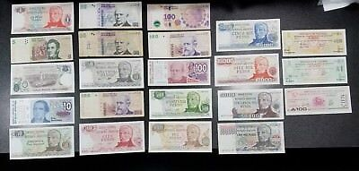ARGENTINA & TUCUMAN Lot of 22 Banknotes ~Mixed Lot Many Better Grade~  #12