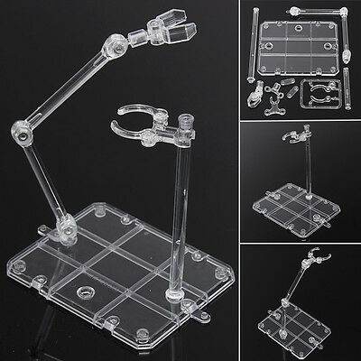 Action Base Suitable Clear Display Stand For 1/144 HG/RG Gundam Figure Model GD