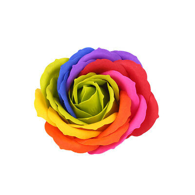 Elegant Valentine'S Day Party Artificial Rose Gift Box 8 Color Festival