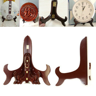 High End Tablet PC Home Bracket Wooden Painting Bowls Decor Stand
