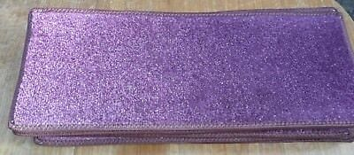 21x8.50inches(53x22cm) PURPLE SPARKLE  STAIR PADS #4061