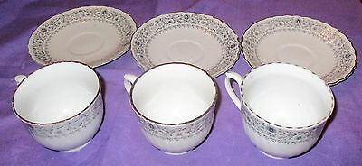 3 Awesome Sets Of Cups And Saucers- Kitchen / Serving / Tea