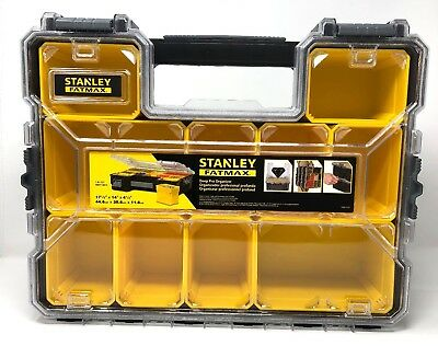 Stanley Fatmax Deep Pro Organiser STA197521 Strong Screw Storage Case