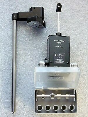 Haag Streit Goldmann Tonometer 900 with Mount and calibration tool
