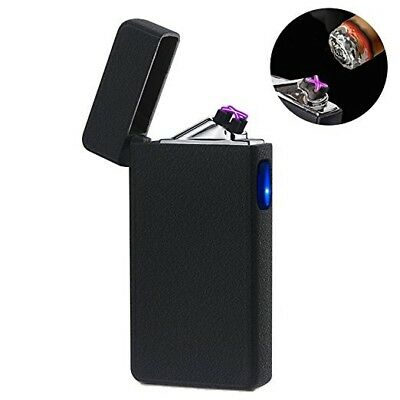 Lighters, Electronic Arc Rechargeable  - Flameless, Windproof - USB  in 3 Colors