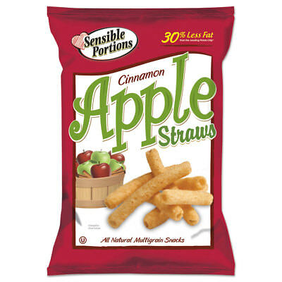 Apple Straws, Apple Cinnamon, 1 oz Bag