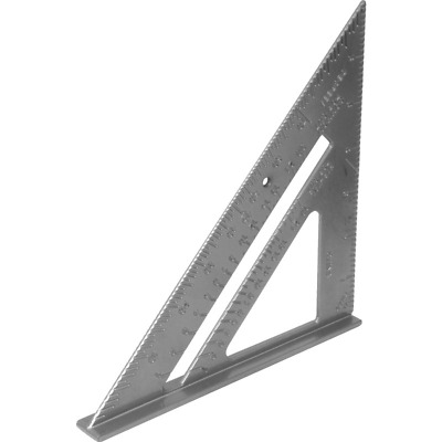 6 Inch Aluminium roofers Square speed square 150mm Impact Resistance Body